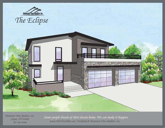 The Eclipse by Mountain View Builders of Casper Wyoming